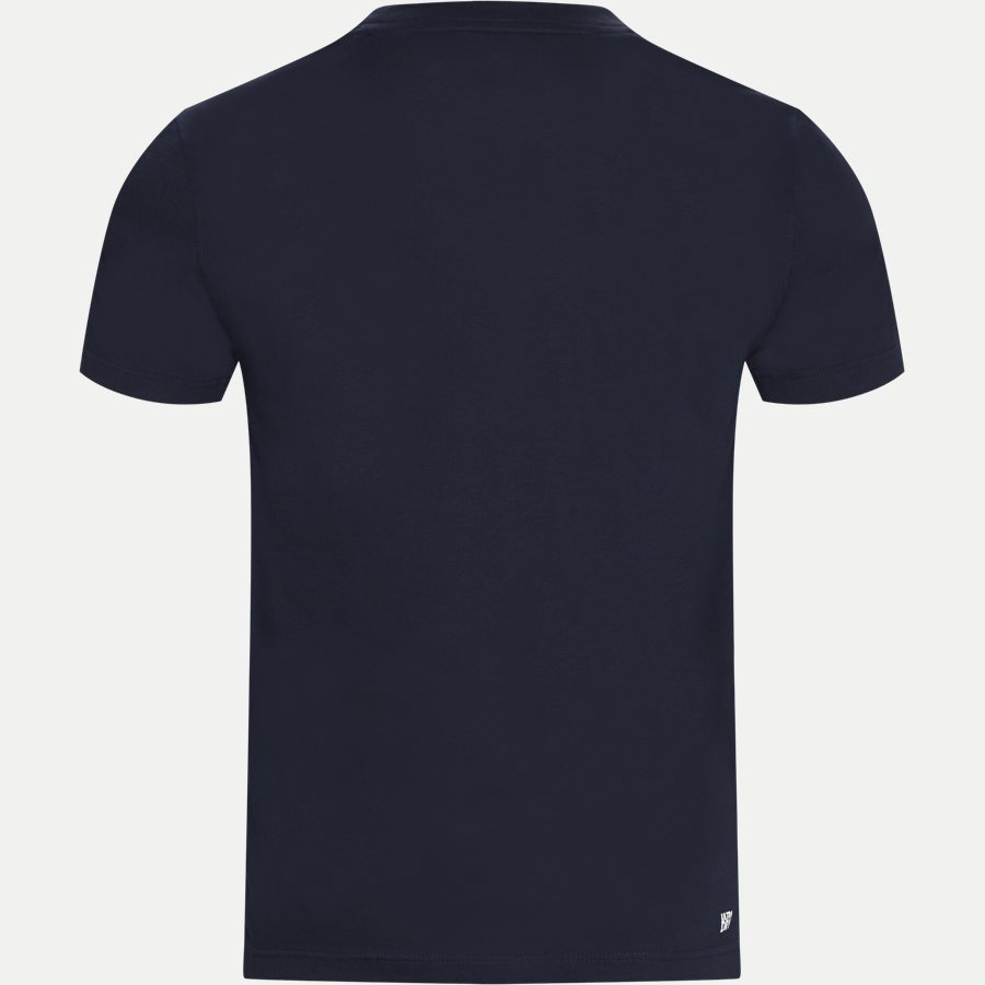 TH8425 - Tennis Court Design Breathable T-shirt - T-shirts - Regular - NAVY - 2
