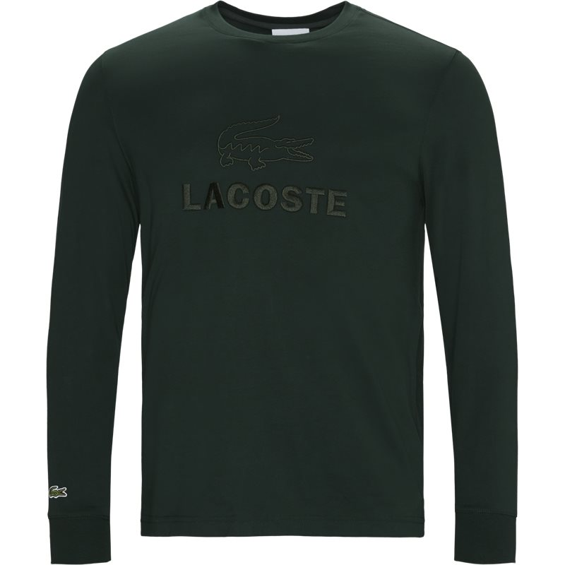 Image of   Lacoste - Tone-On-Tone Lacoste Embroidery Cotton T-shirt