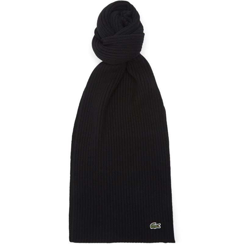 Image of   Lacoste - Ribbed Wool Scarf