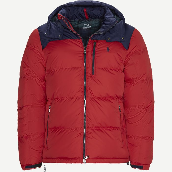 Down Jacket - Jakker - Regular - Rød
