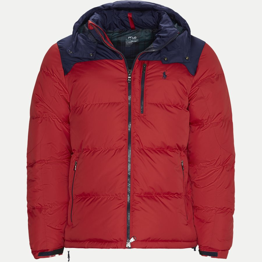 710758733 - Down Jacket - Jakker - Regular - RØD - 1