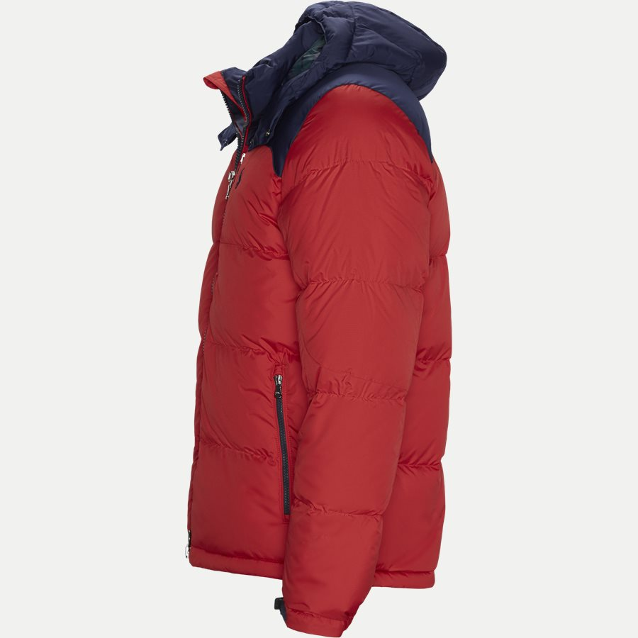710758733 - Down Jacket - Jakker - Regular - RØD - 3