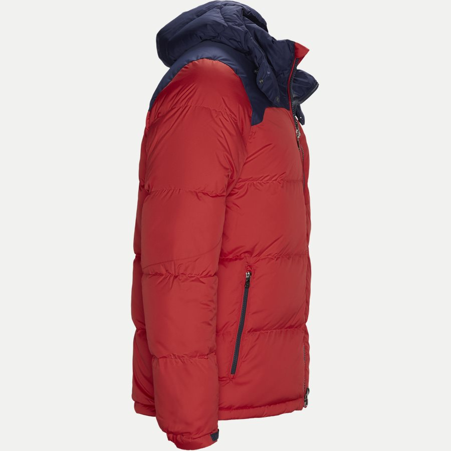 710758733 - Down Jacket - Jakker - Regular - RØD - 4