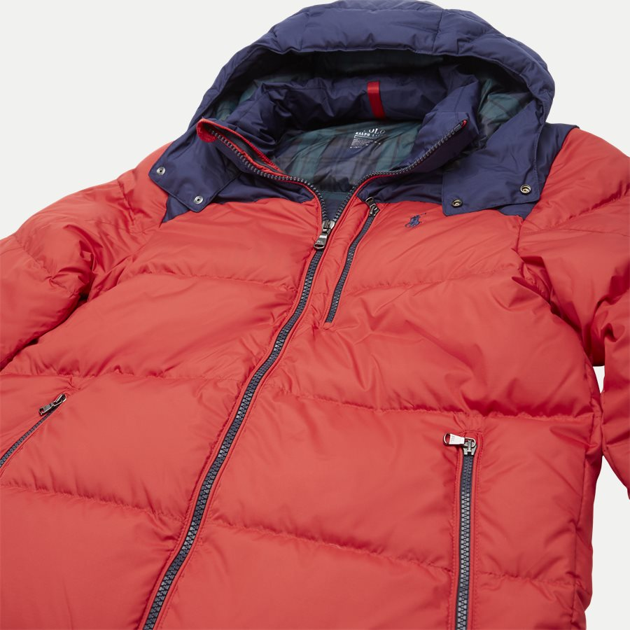 710758733 - Down Jacket - Jakker - Regular - RØD - 7