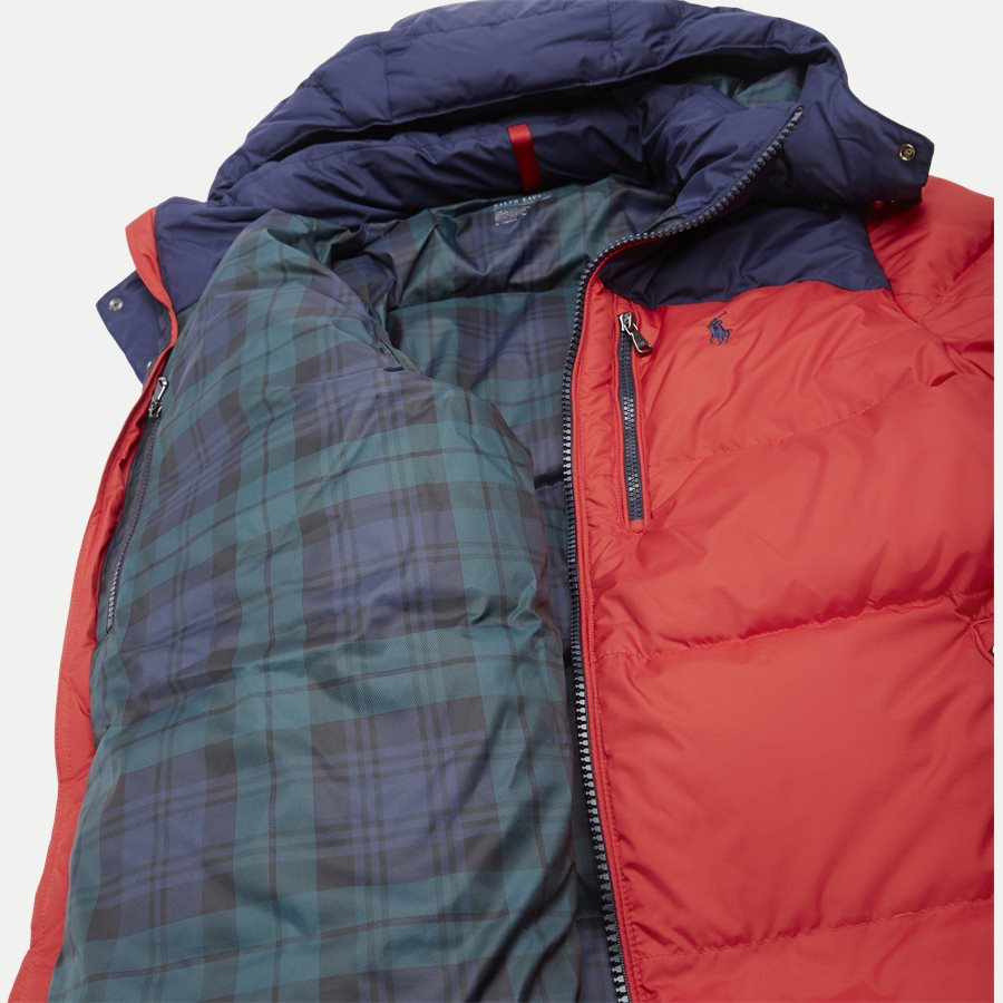 710758733 - Down Jacket - Jakker - Regular - RØD - 10