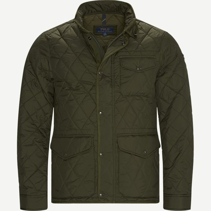 Quilted Jacket - Jakker - Regular - Army