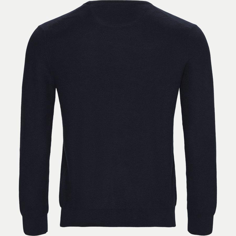 710680593 - Crewneck Knitted Jumper - Strik - Regular - NAVY - 2