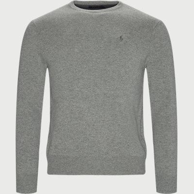 Crew Neck Jumper Regular | Crew Neck Jumper | Grå
