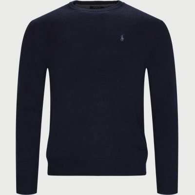 Crew Neck Jumper Regular | Crew Neck Jumper | Blå