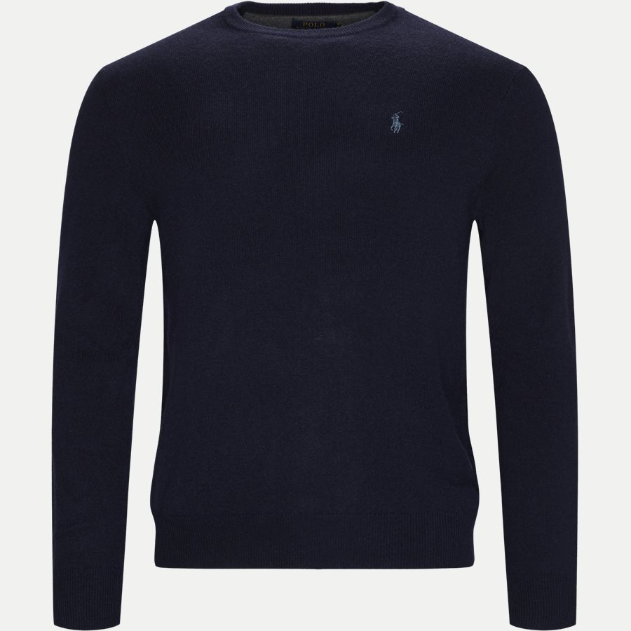 710667378 - Crew Neck Jumper - Strik - Regular - NAVY - 1