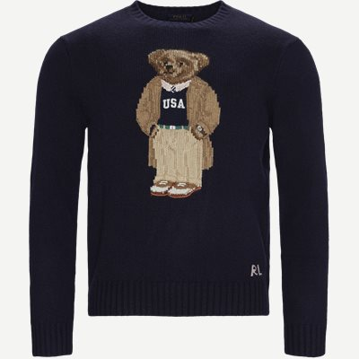 Polo Bear Sweater Regular | Polo Bear Sweater | Blå
