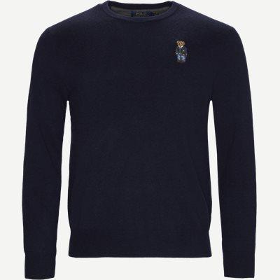 Polo Bear Crew Neck Knit Regular | Polo Bear Crew Neck Knit | Blå