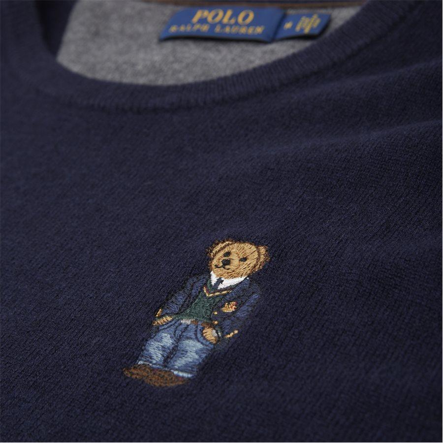 710763451 - Polo Bear Crew Neck Knit - Strik - Regular - NAVY - 3
