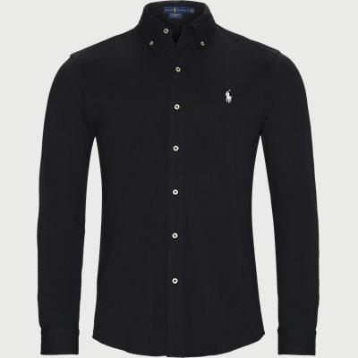 Featherweight Mesh Shirt Regular | Featherweight Mesh Shirt | Sort