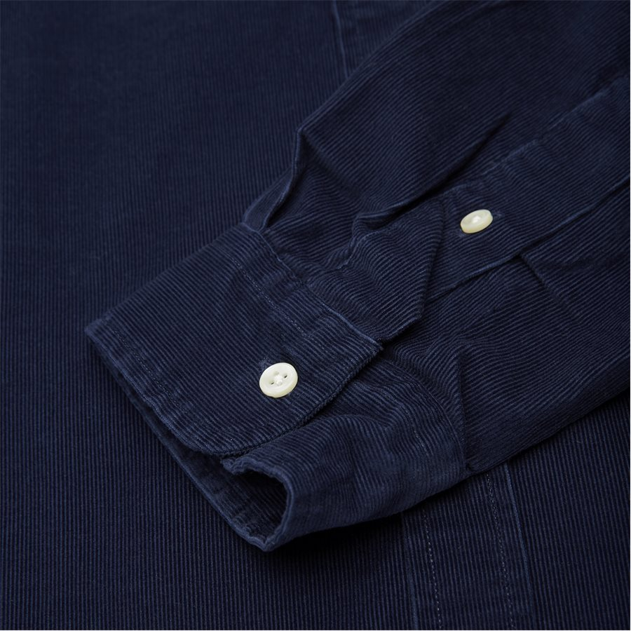 710767119 - Corduroy Button-Down Shirt - Skjorter - Slim - NAVY - 3
