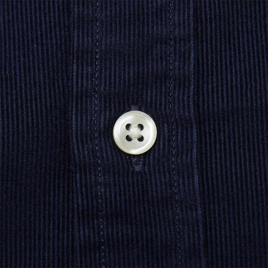 710767119 - Corduroy Button-Down Shirt - Skjorter - Slim - NAVY - 6