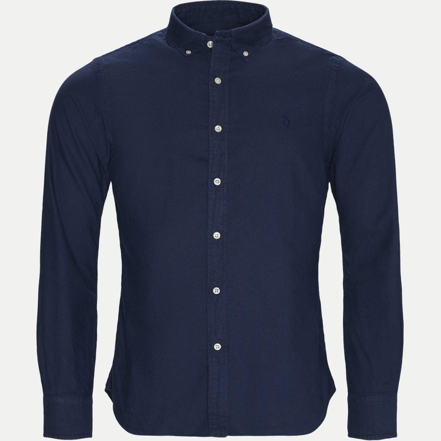 710767447 - Oxford Skjorte - Skjorter - Slim - NAVY - 1