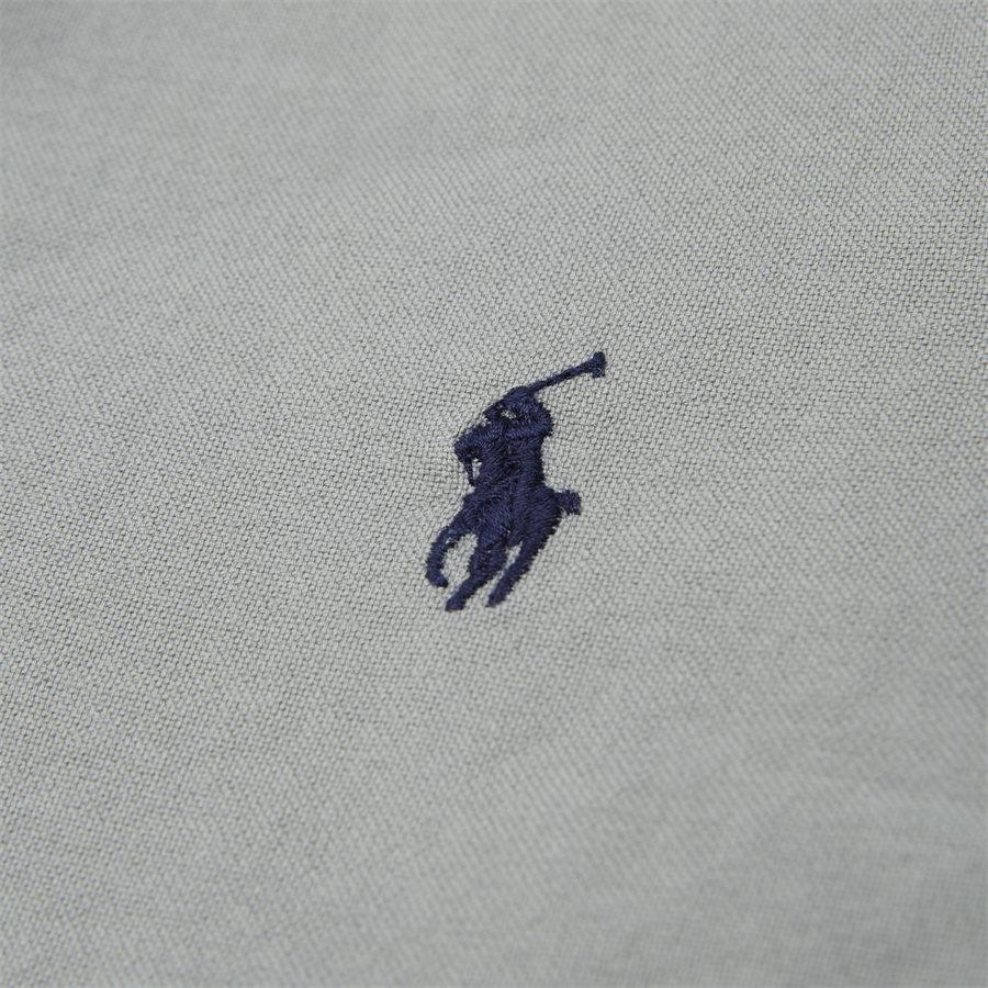 710684871 - Oxford Button-Down Shirt - Skjorter - Slim - GRÅ - 3