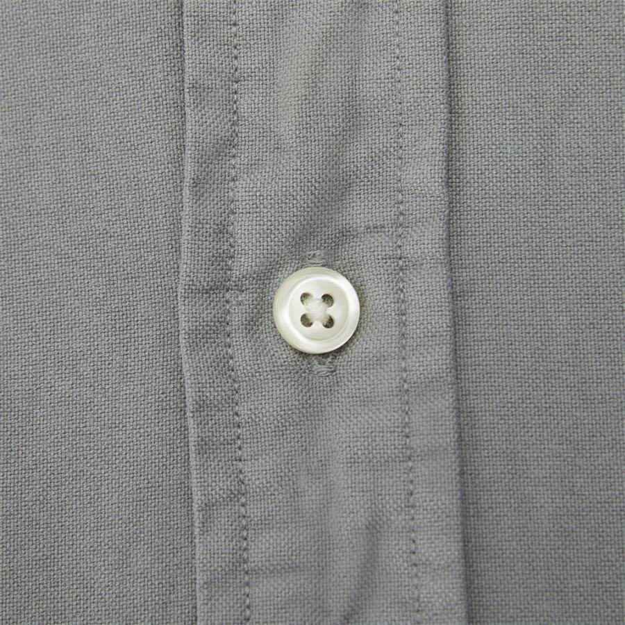 710684871 - Oxford Button-Down Shirt - Skjorter - Slim - GRÅ - 5