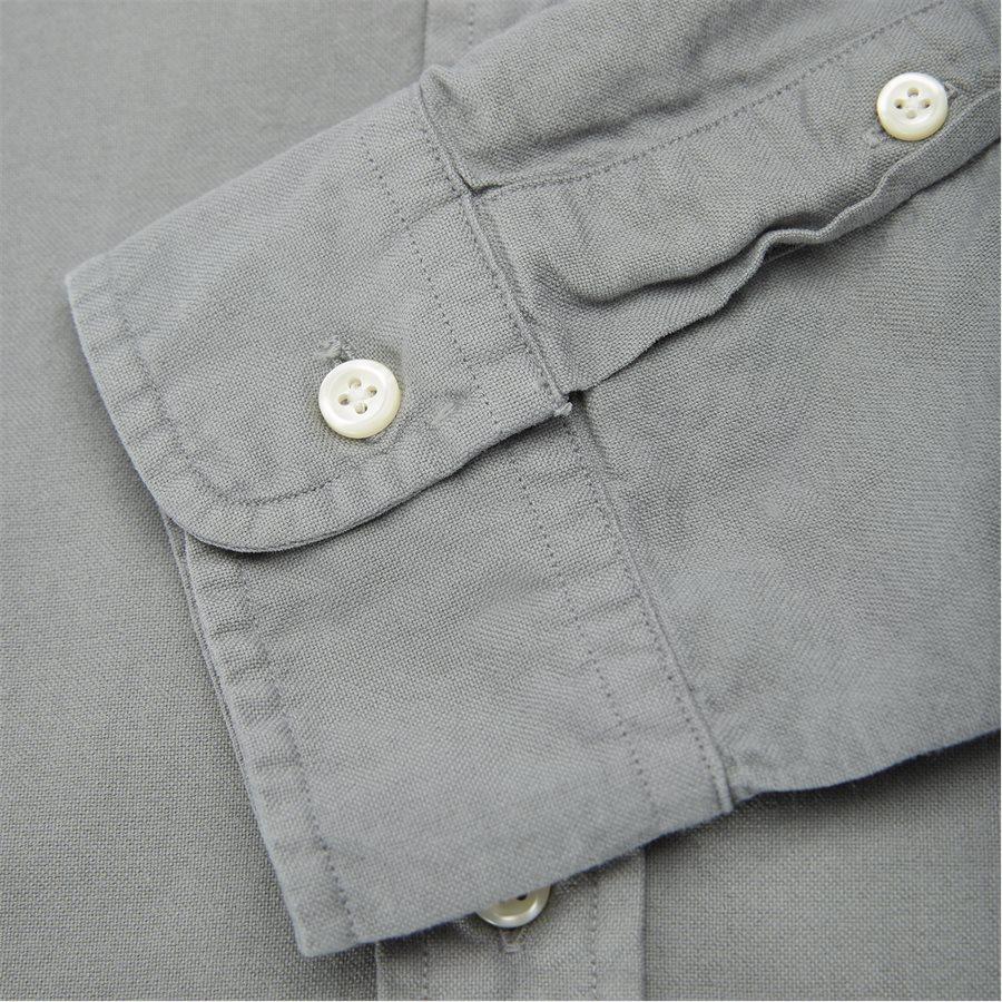 710684871 - Oxford Button-Down Shirt - Skjorter - Slim - GRÅ - 6