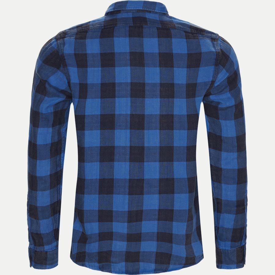 710761514 - Cotton Shirt - Skjorter - Regular - BLÅ - 2