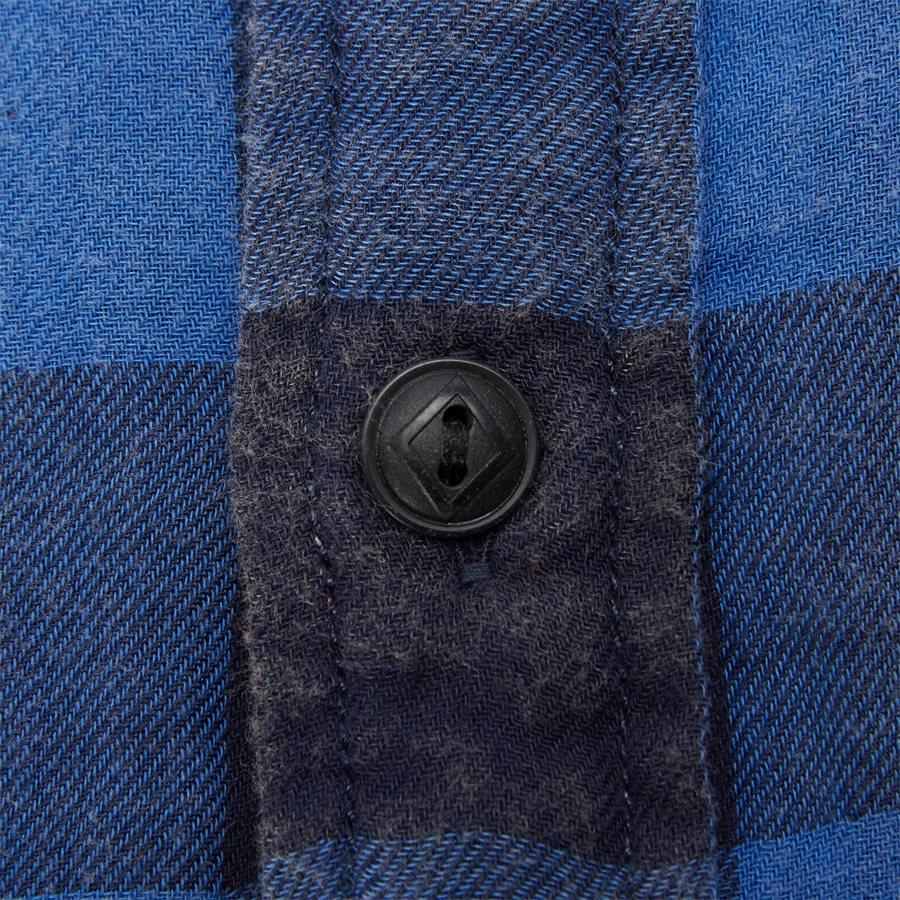 710761514 - Cotton Shirt - Skjorter - Regular - BLÅ - 3