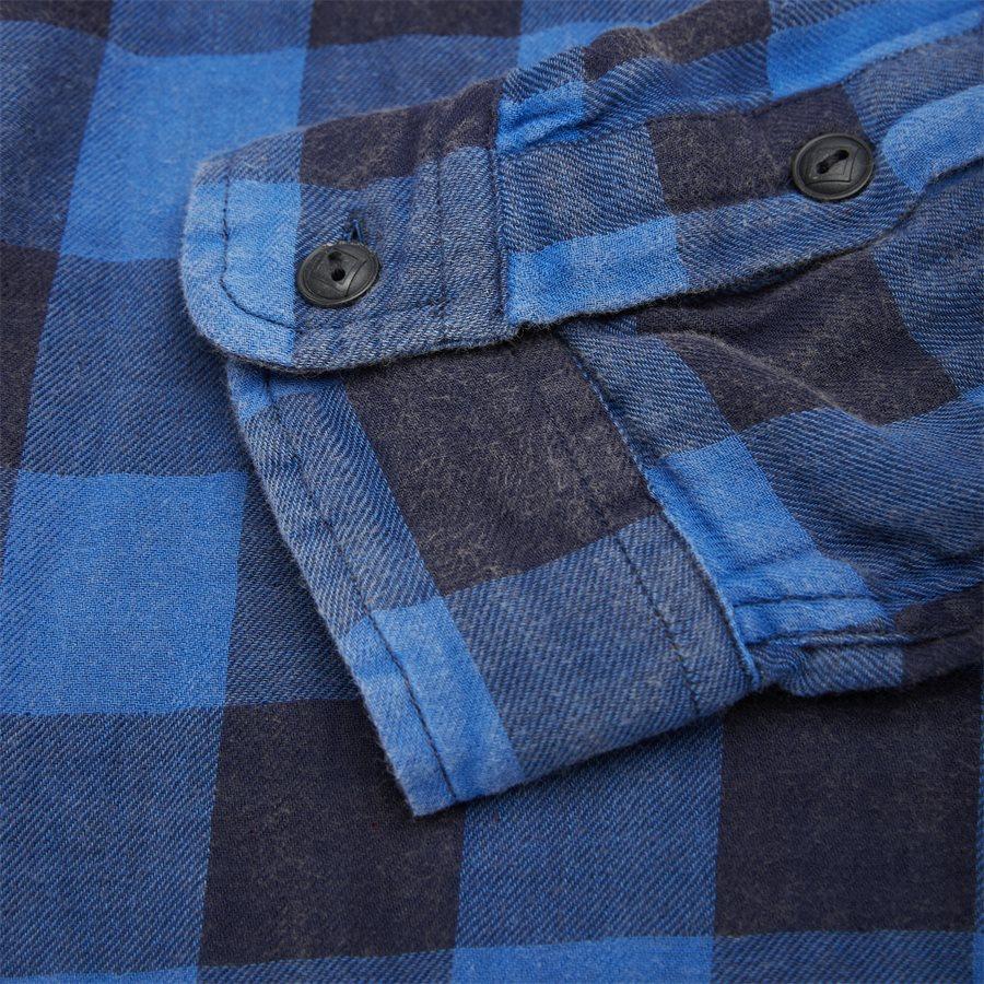 710761514 - Cotton Shirt - Skjorter - Regular - BLÅ - 6