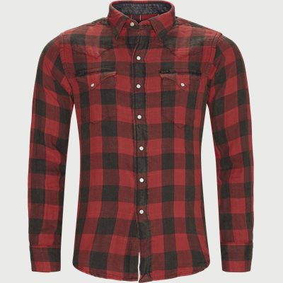 Cotton Shirt Regular | Cotton Shirt | Rød