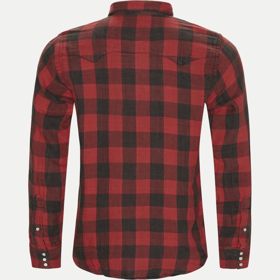 710765889 - Cotton Shirt - Skjorter - Regular - RØD - 2