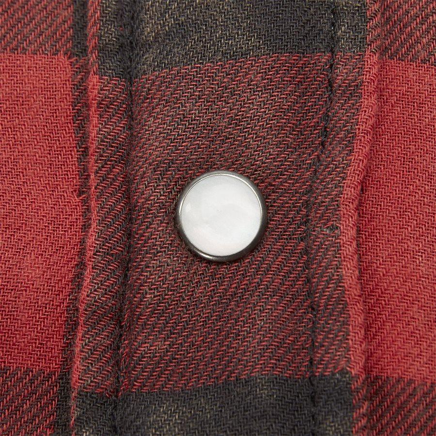 710765889 - Cotton Shirt - Skjorter - Regular - RØD - 6