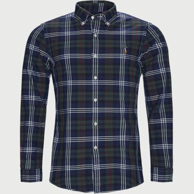 Oxford Button-down Shirt Slim | Oxford Button-down Shirt | Blå