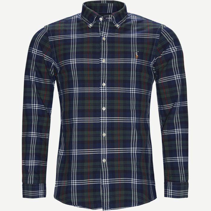 Oxford Button-down Shirt - Skjorter - Slim - Blå