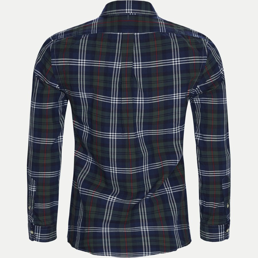 710767441 - Oxford Button-down Shirt - Skjorter - Slim - BLÅ - 2