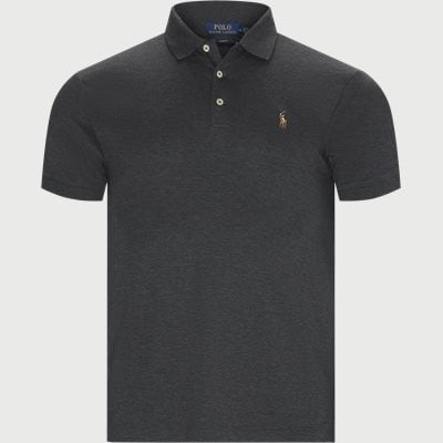 Slim Fit Interlock Polo Shirt Slim | Slim Fit Interlock Polo Shirt | Grå