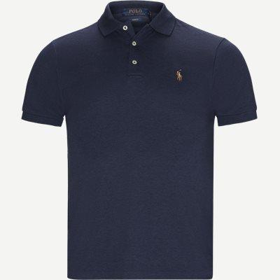Slim Fit Interlock Polo Shirt Slim | Slim Fit Interlock Polo Shirt | Blå