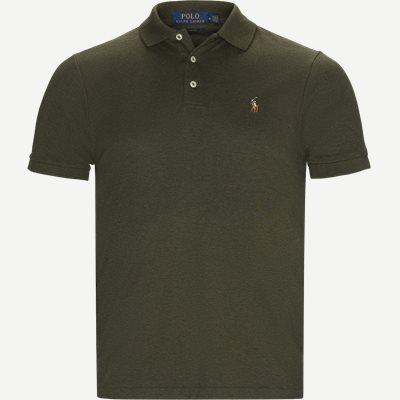 Slim Fit Interlock Polo Shirt Slim   Slim Fit Interlock Polo Shirt   Army