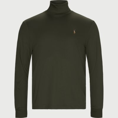 Cotton Turtleneck Jumper Regular | Cotton Turtleneck Jumper | Army