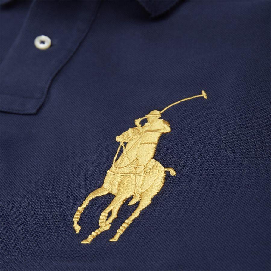 710766857 - Long Sleeved Big Pony Polo Shirt - T-shirts - Slim - NAVY - 6