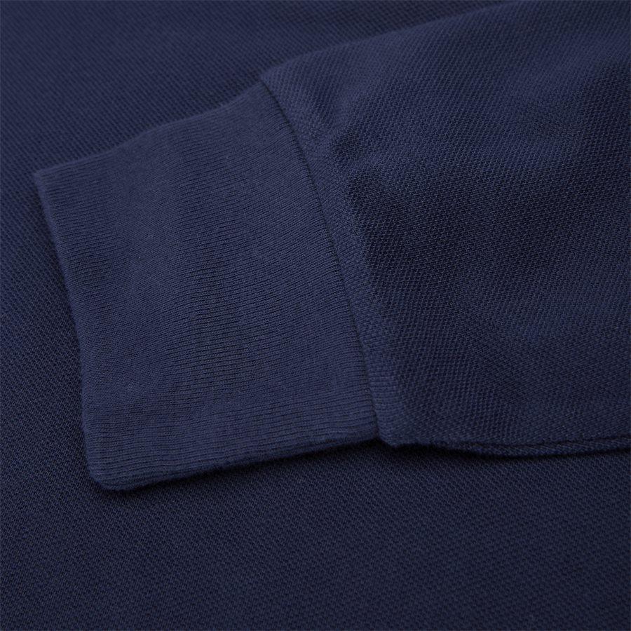 710766857 - Long Sleeved Big Pony Polo Shirt - T-shirts - Slim - NAVY - 7