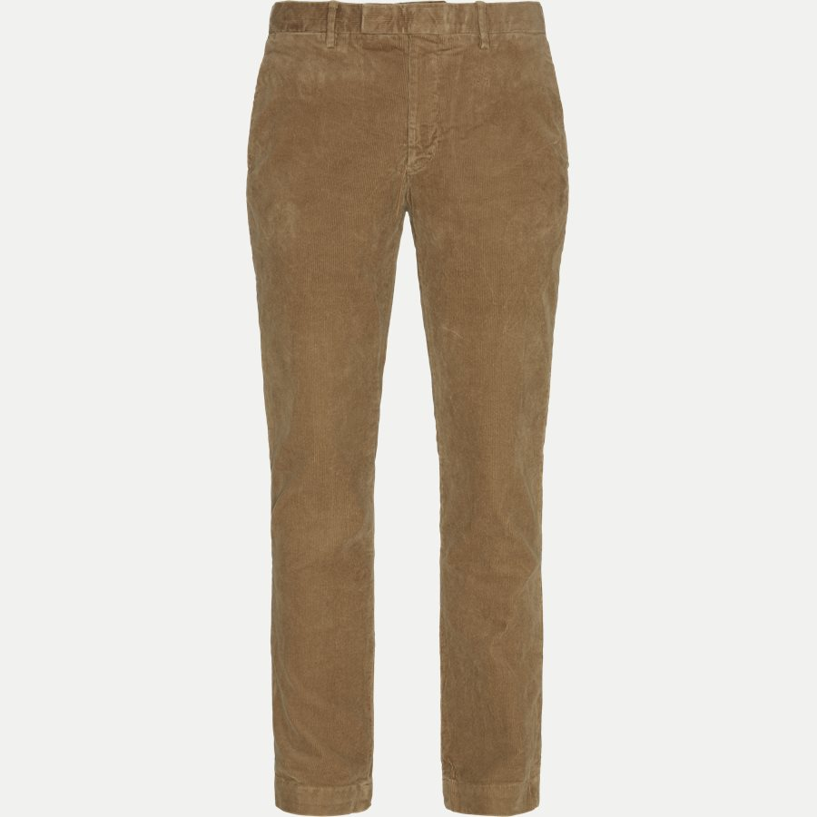 710722642 - Corduroy Slim Pants - Bukser - Slim - CAMEL - 1