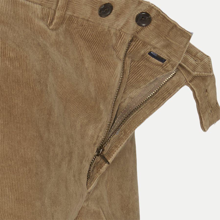 710722642 - Corduroy Slim Pants - Bukser - Slim - CAMEL - 4