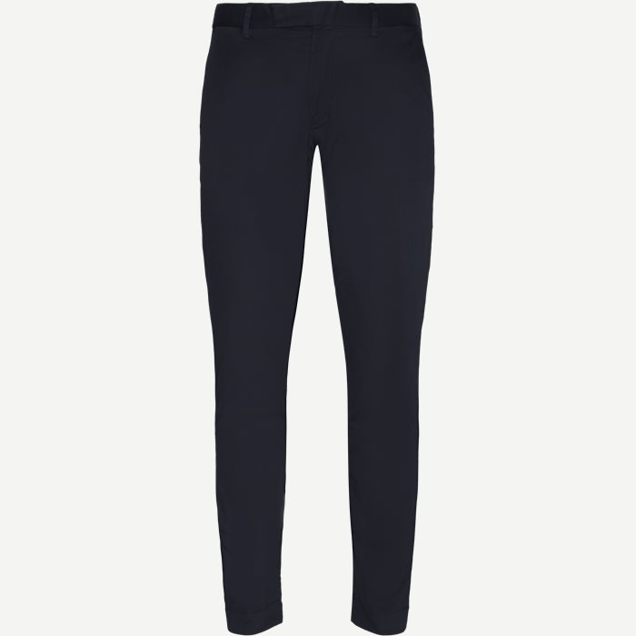 Stretch Tailored Slim Chino - Bukser - Slim - Blå