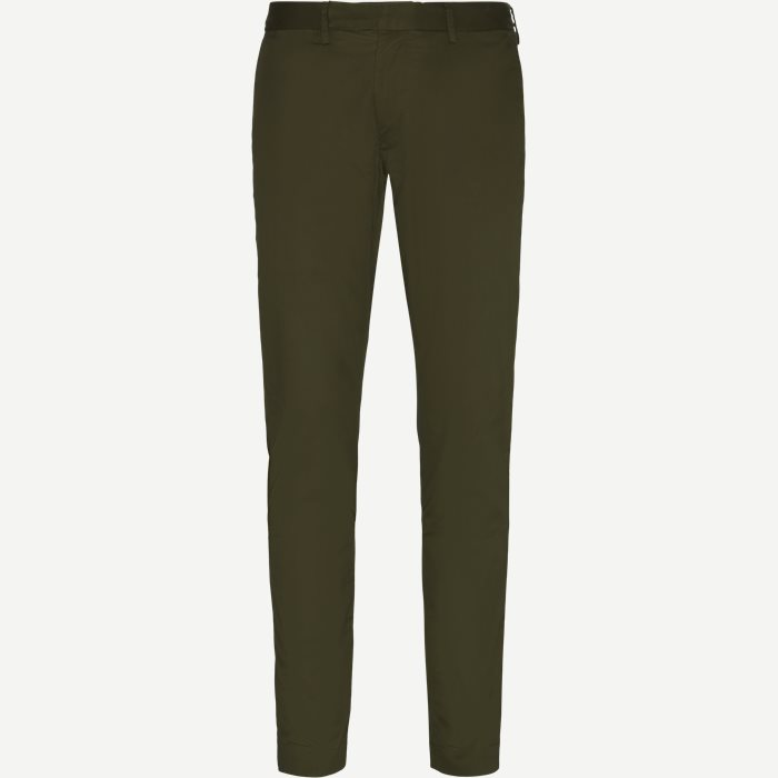 Stretch Tailored Slim Chino - Bukser - Slim - Army