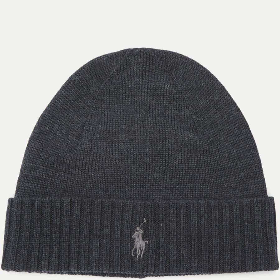 710761415 - Wool Logo Beanie - Caps - KOKS - 1