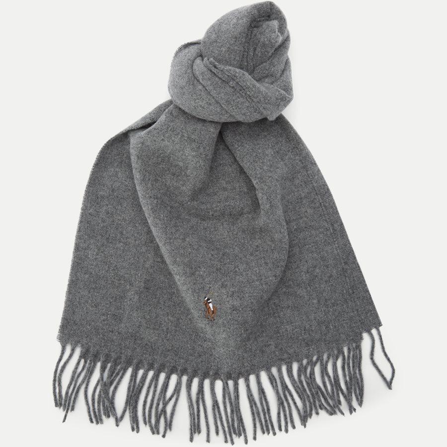 449727530 - Wool Scarf - Tørklæder - GRÅ - 1