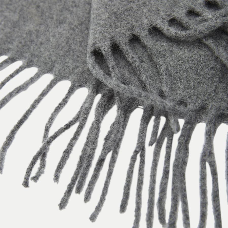 449727530 - Wool Scarf - Tørklæder - GRÅ - 2