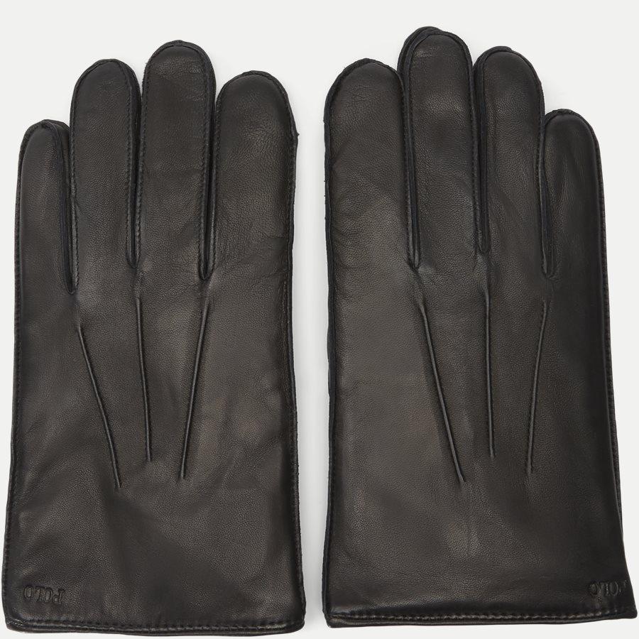 449777670 - Leather Touch Gloves - Handsker - SORT - 3