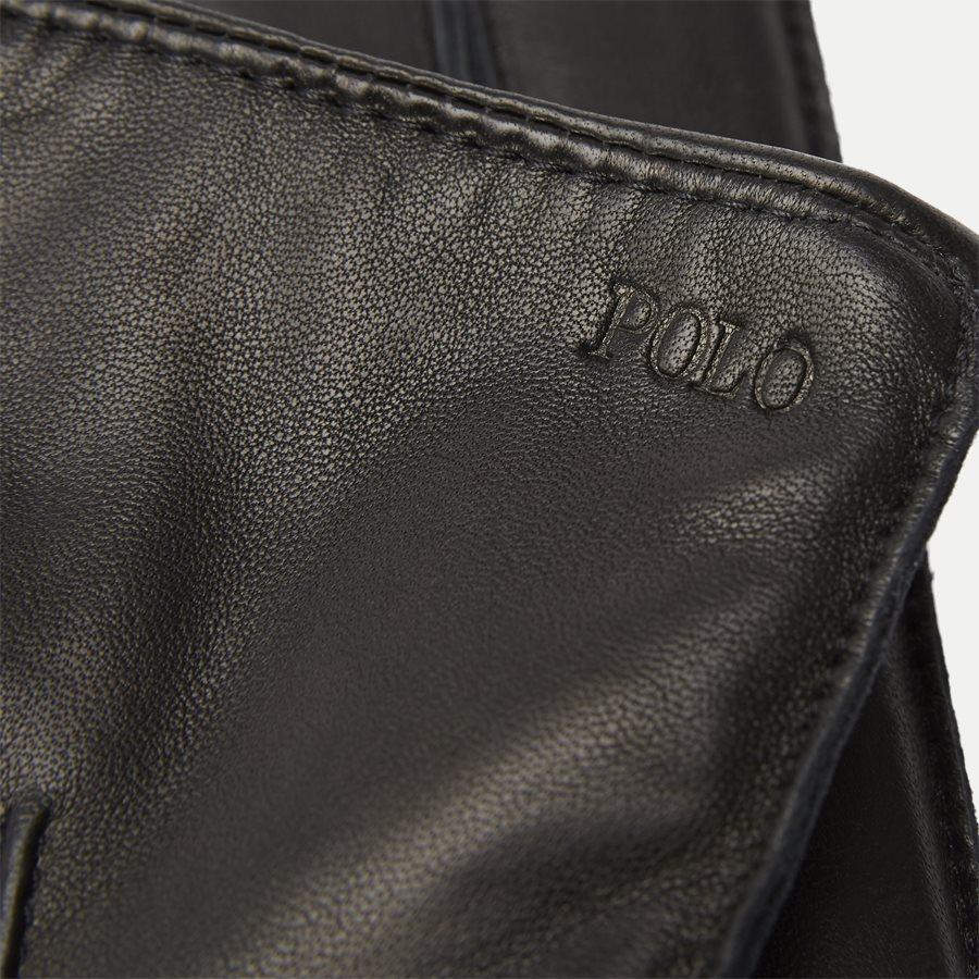 449777670 - Leather Touch Gloves - Handsker - SORT - 4