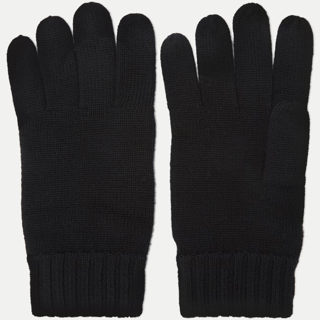 Wool Logo Gloves