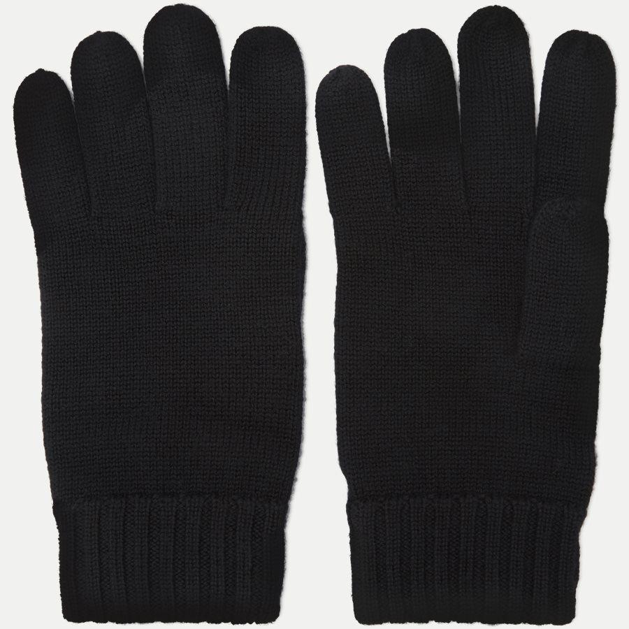 710761416 - Wool Logo Gloves - Handsker - SORT - 3